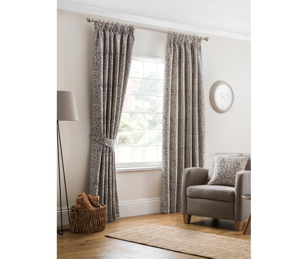 Set 2 draperii Eden Grey 229x137 cm
