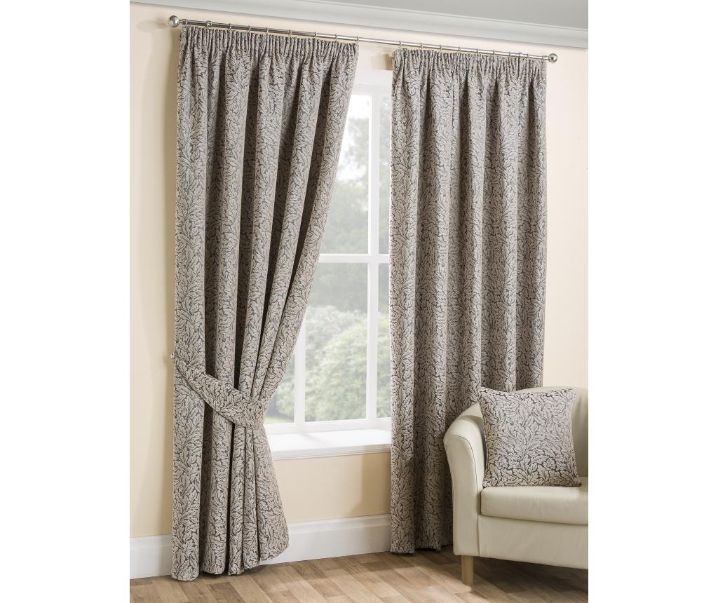 Set 2 draperii Balmoral Grey 168x137 cm