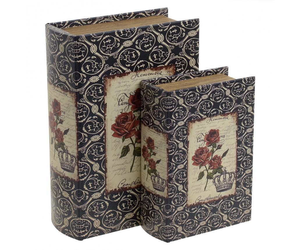 Set 2 cutii Chloette - inart, Multicolor