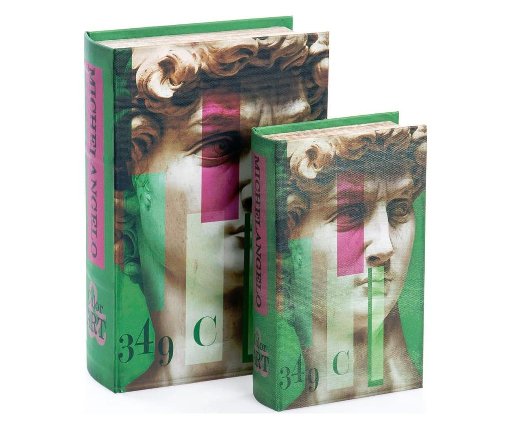 Set 2 cutii tip carte imagine
