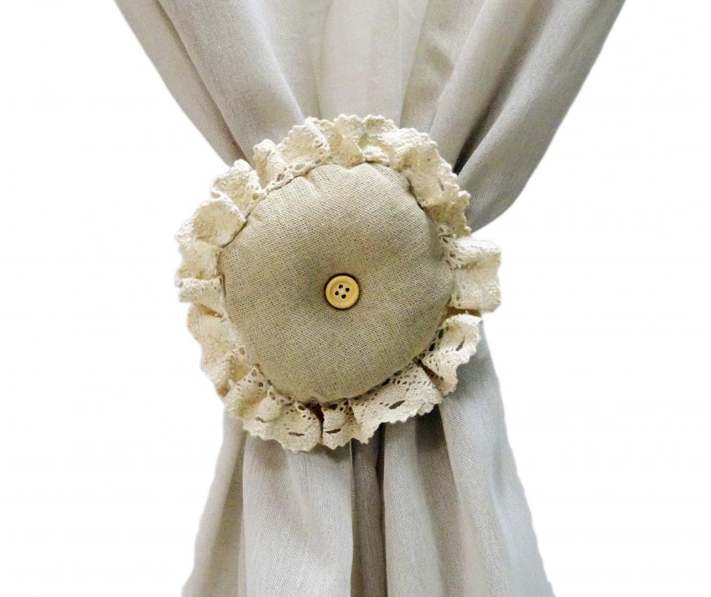 Set 2 accesorii pentru draperie - Disraeli, Crem poza