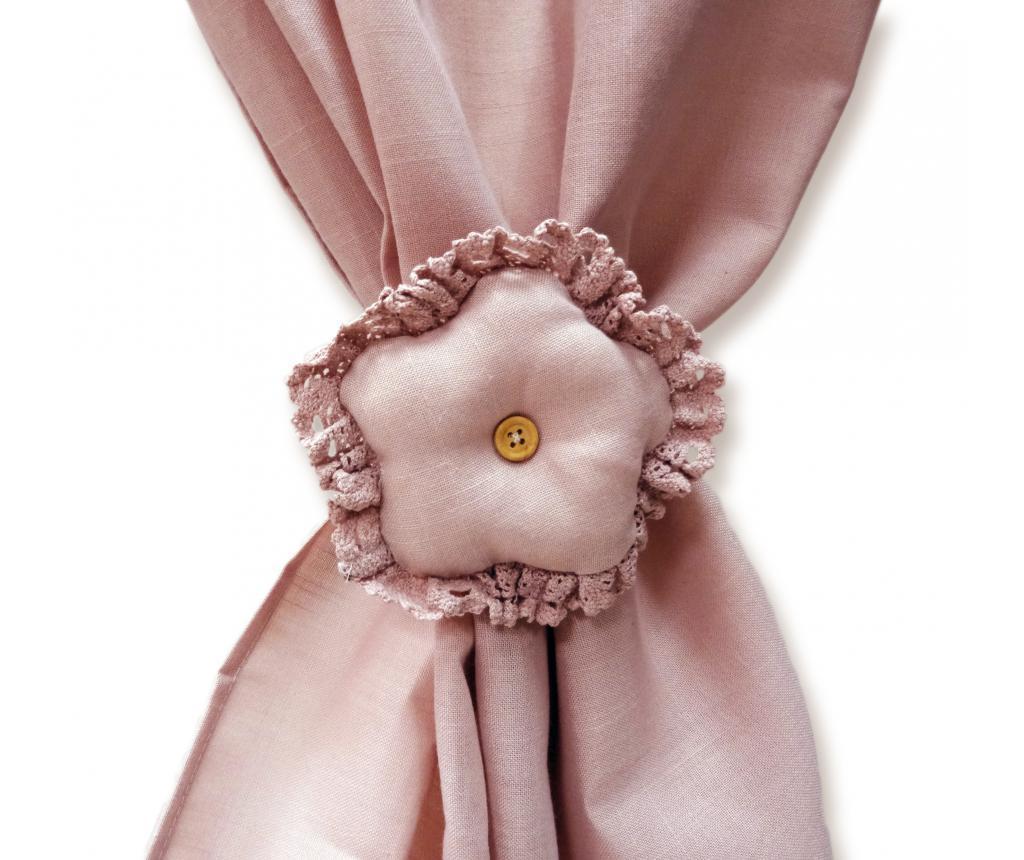 Set 2 accesorii pentru draperie - Disraeli, Roz imagine