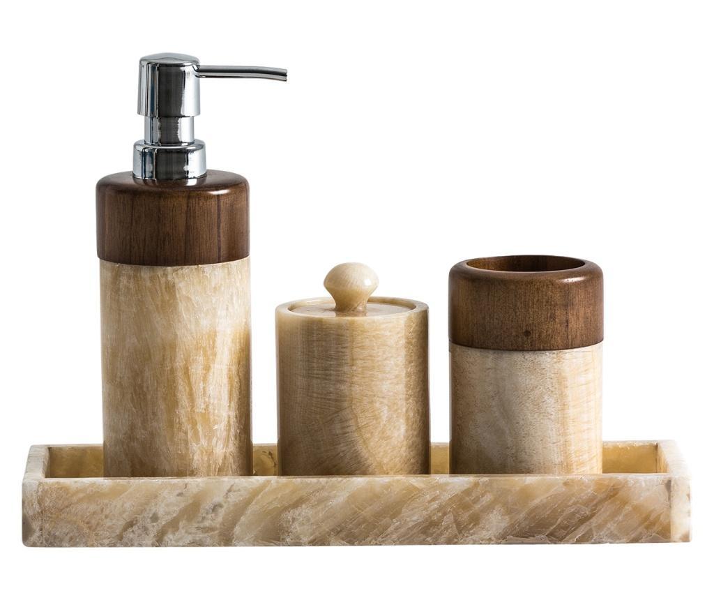 Set de 4 accesorii pentru baie vivre.ro