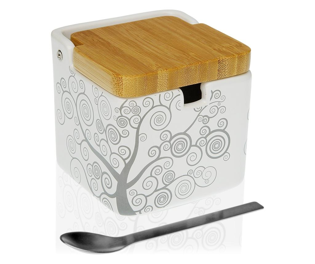 Zaharnita si lingura - Versa, Gri & Argintiu imagine