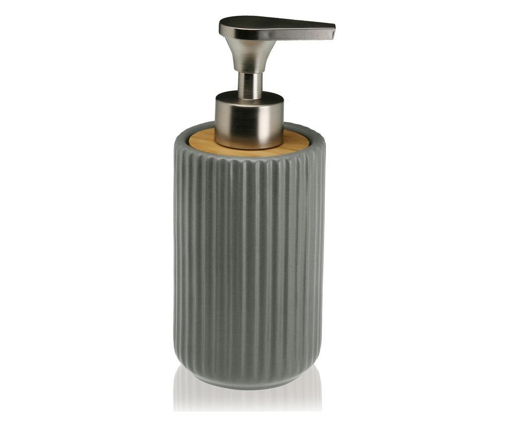 Dispenser pentru sapun lichid - Versa, Gri & Argintiu imagine