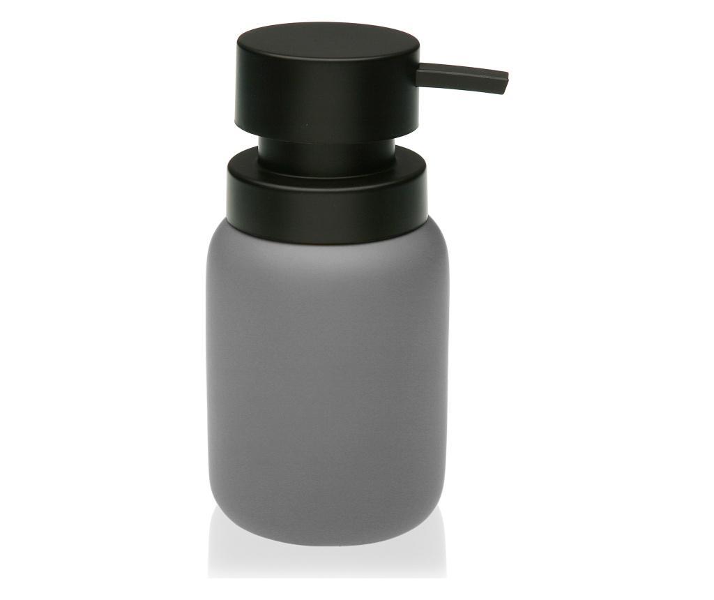 Dispenser pentru sapun lichid - Versa, Gri & Argintiu