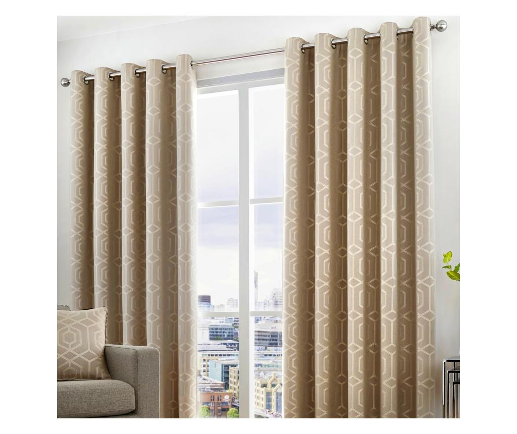 Set 2 draperii Camberwell Grey 117x183 cm
