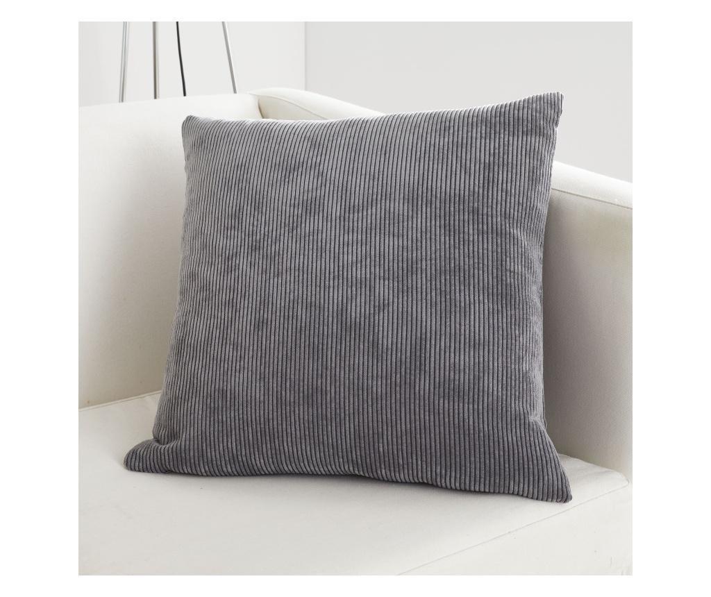 Fata de perna Kilbride Cord Grey 43x43 cm