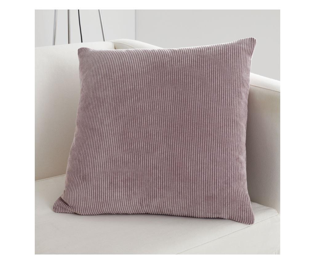 Fata de perna Kilbride Cord Pink 43x43 cm