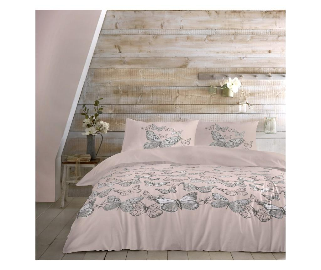 Set de pat Mariposa Pink Double