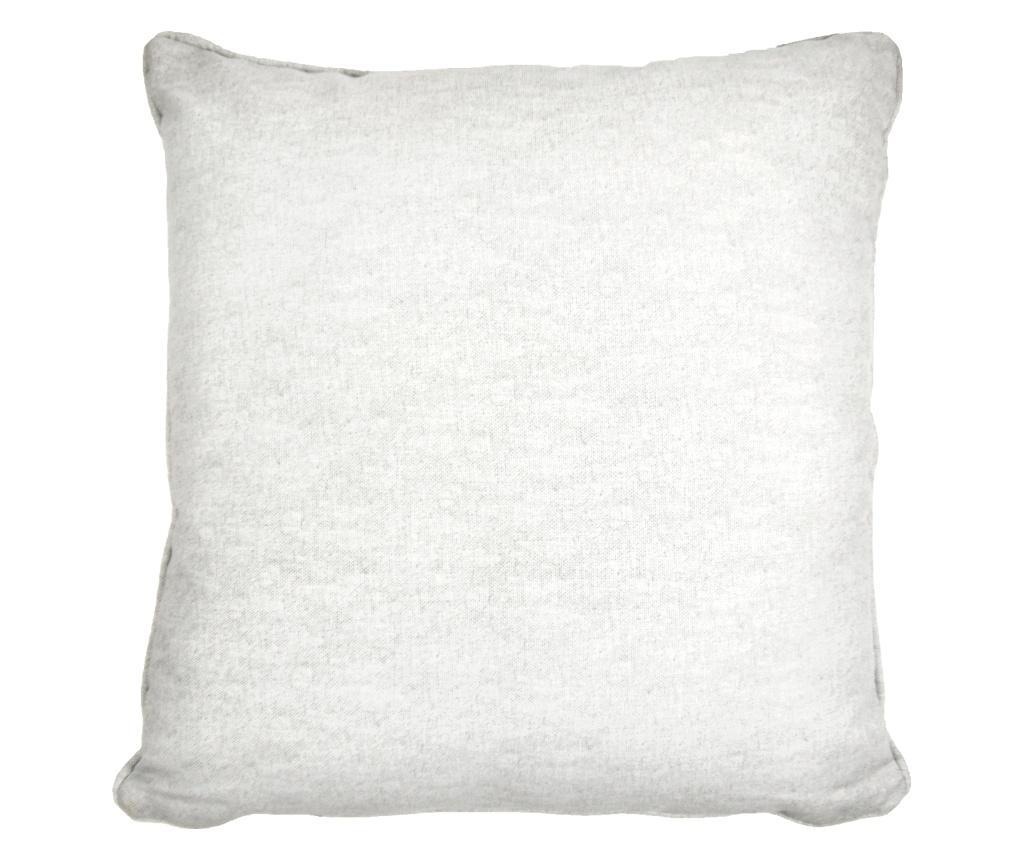 Fata de perna Sorbonne White 43x43 cm