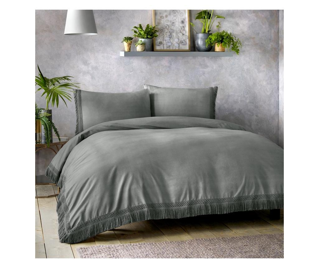 Set de pat Tasha Grey Double