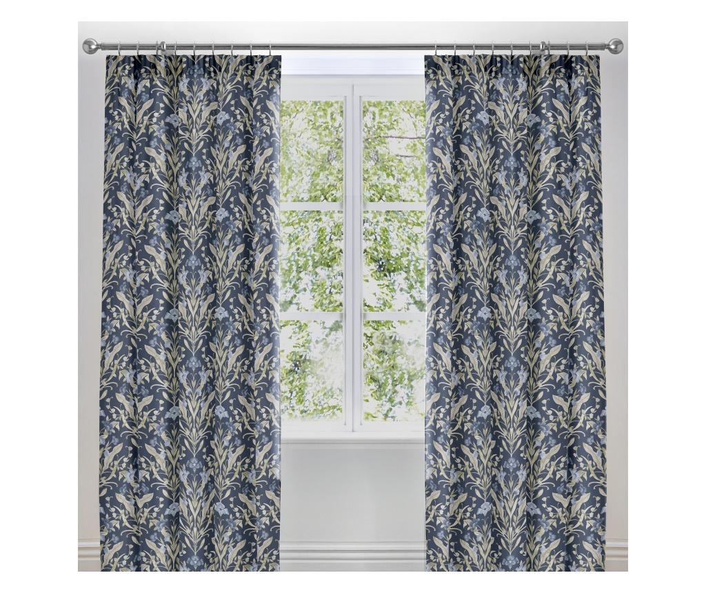 Set 2 draperii Venito Blue 168x183 cm