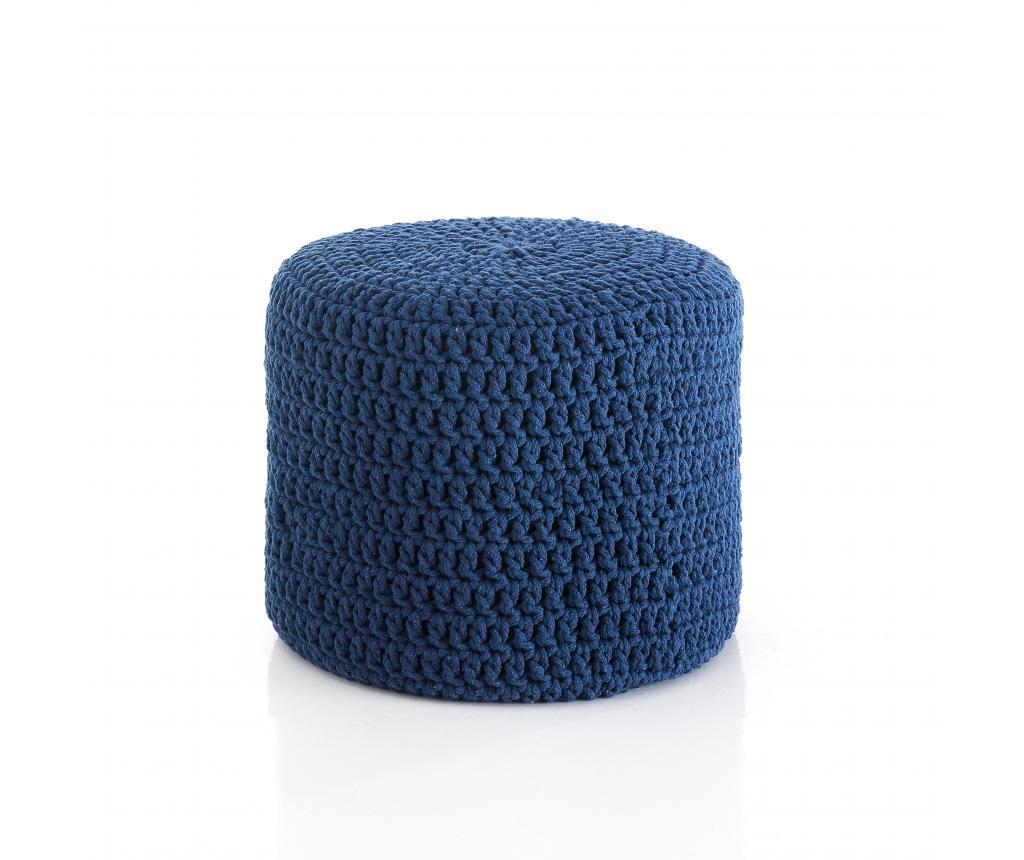 Puf Choose Blue - Tomasucci, Albastru