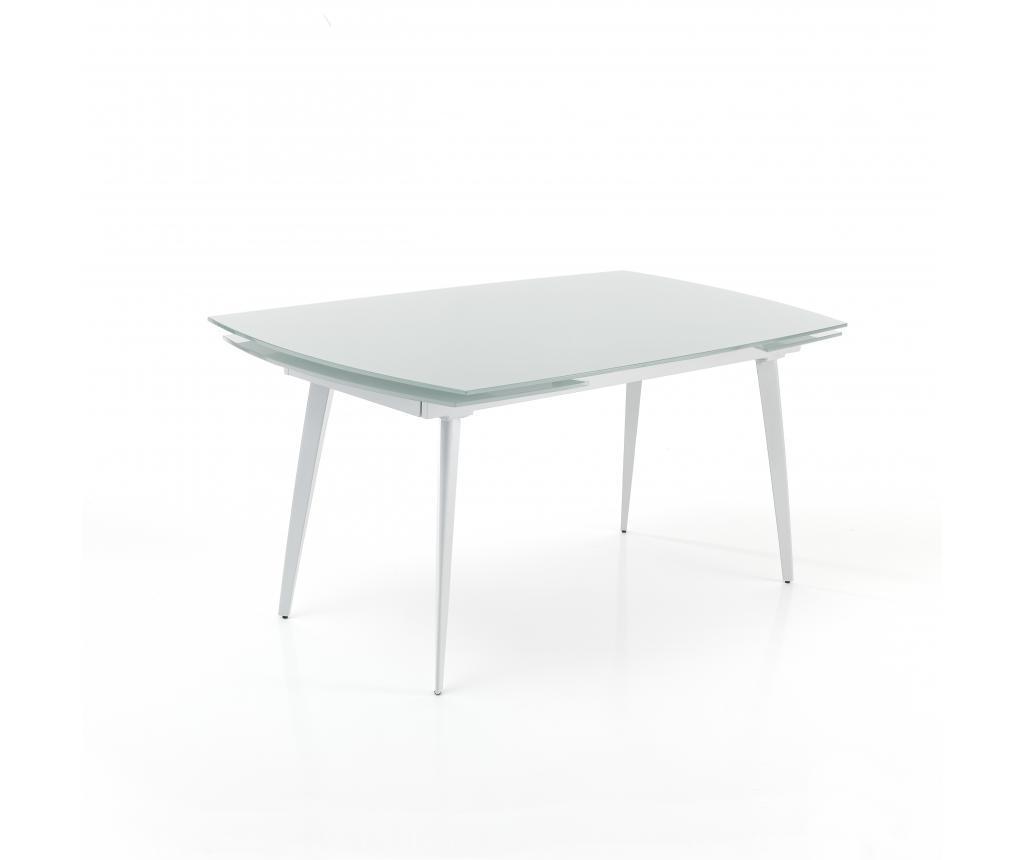 Masa extensibila Mono White 140 cm - Tomasucci, Alb imagine
