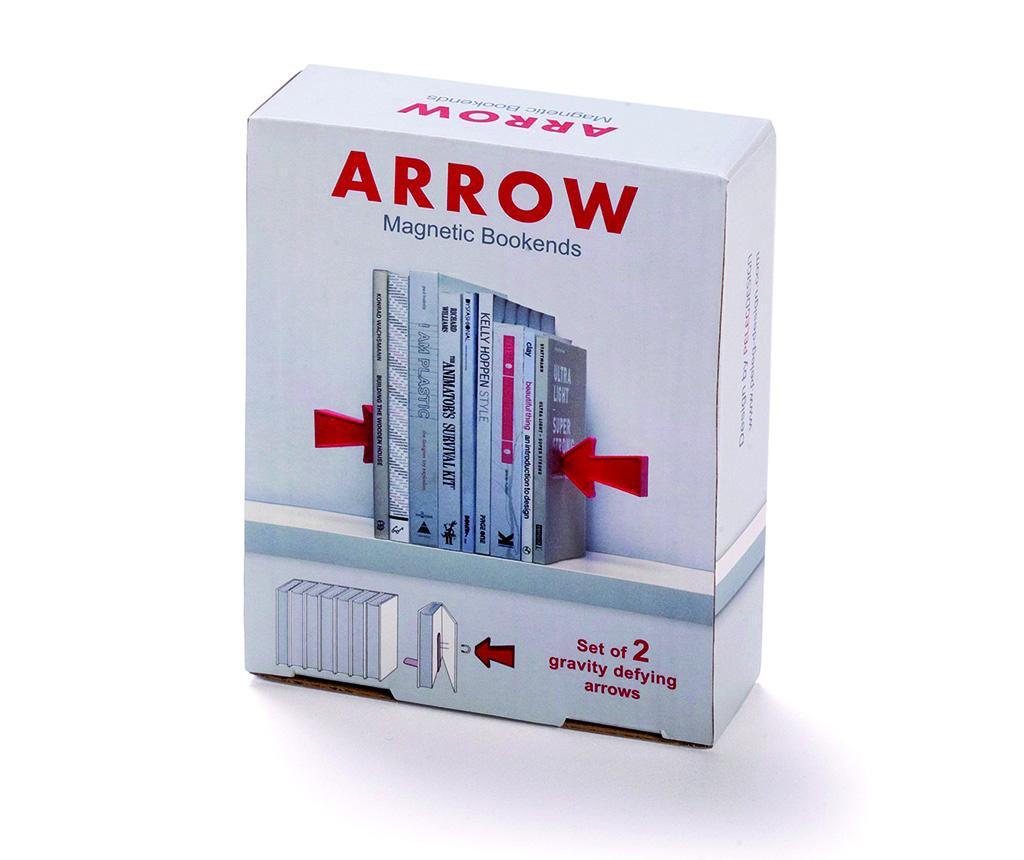 Set 2 suporturi pentru carti Peleg Design Arrows imagine