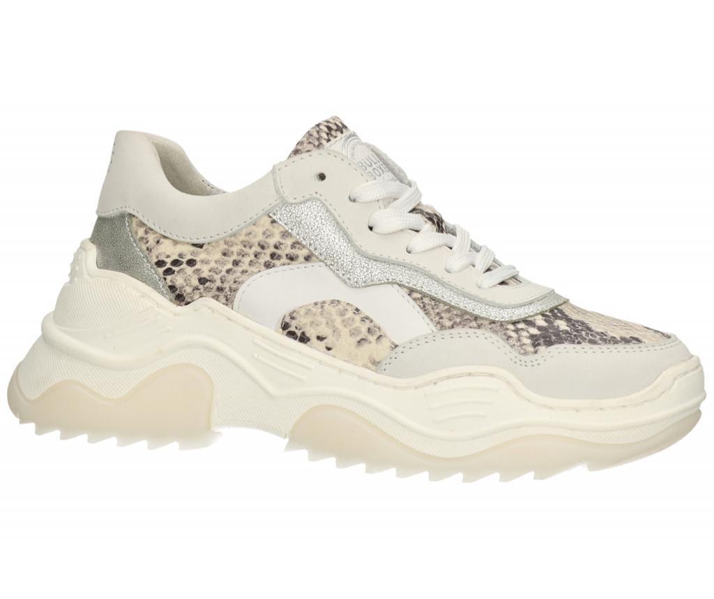 Pantofi sport dama Bullboxer Snake 37 - Bullboxer, Alb poza