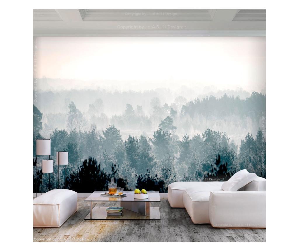 Fototapet Winter Forest 280x400 cm - Artgeist, Multicolor vivre.ro