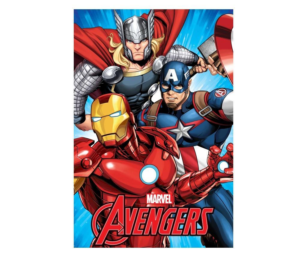 Pled Avengers 100x150 cm