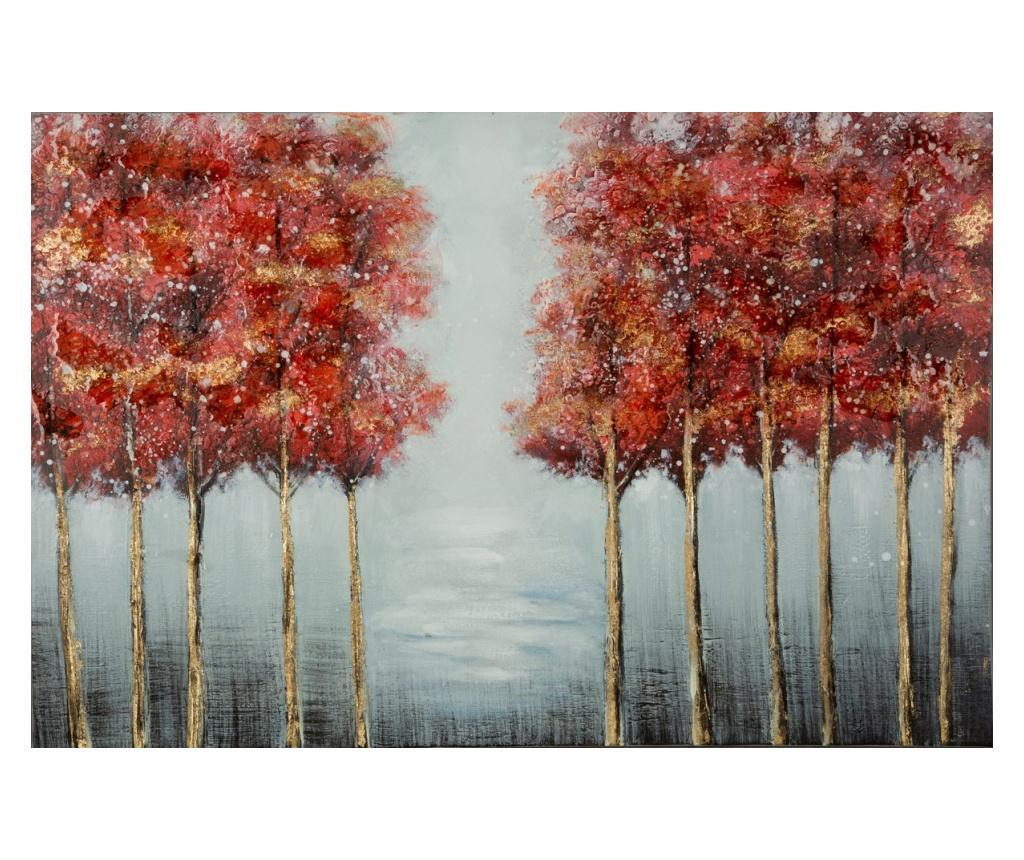 Tablou Autumn 60x90 cm - Eurofirany, Rosu imagine