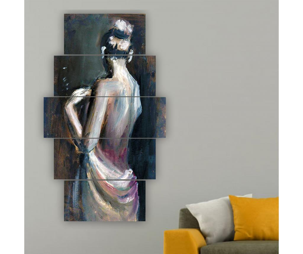 Set 5 tablouri Lise