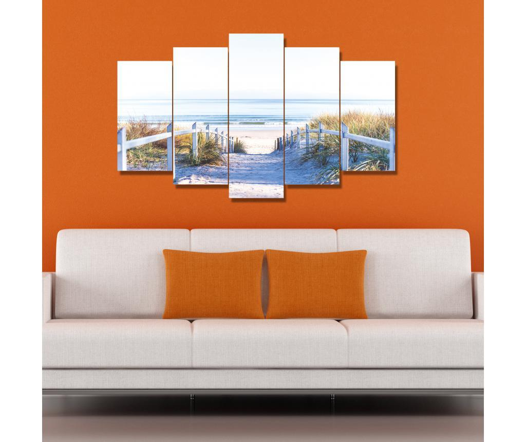 Set 5 tablouri Addi - CASBERG, Multicolor de la CASBERG