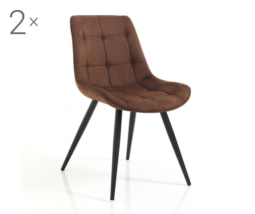 Set 2 scaune Buick Brown - Tomasucci, Maro imagine