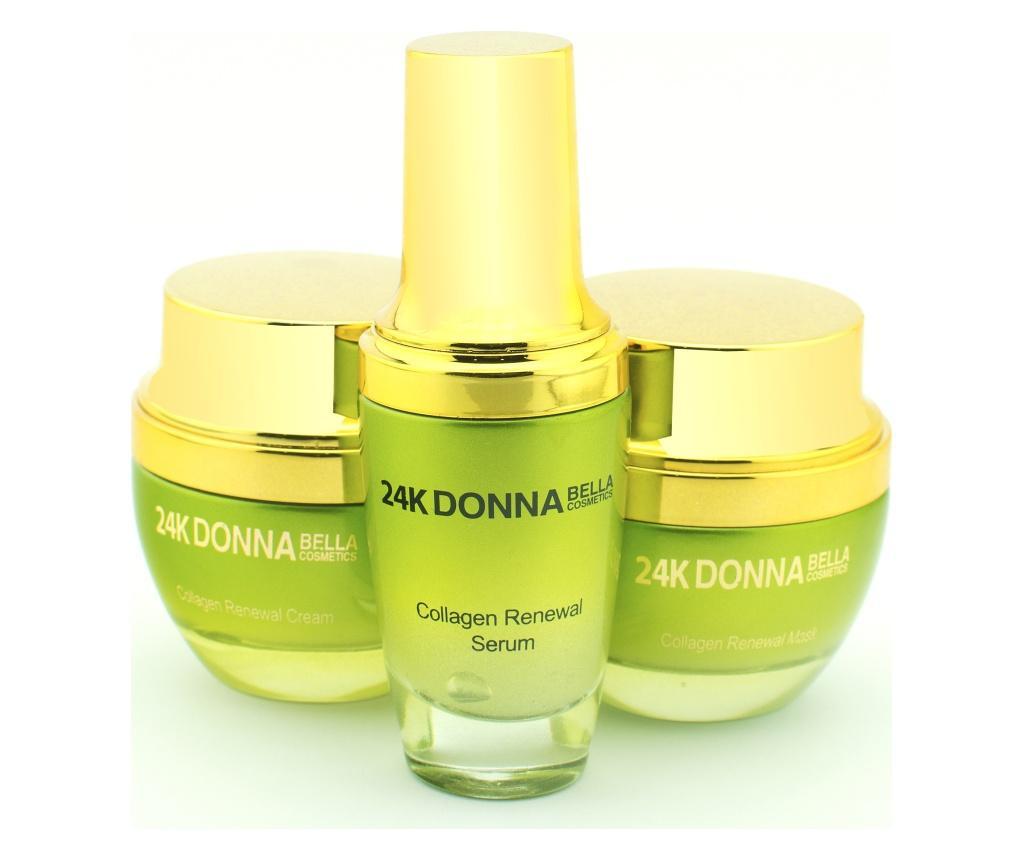 Set 3 produse pentru ingrijirea tenului Donna Bella Collagen