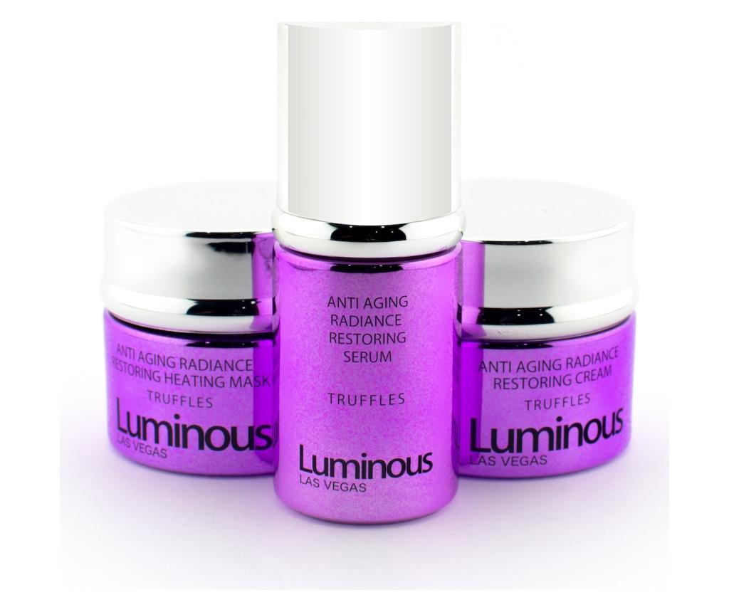 Set 3 Produse Pentru Ingrijirea Tenului Luminous Antiaging Radiance