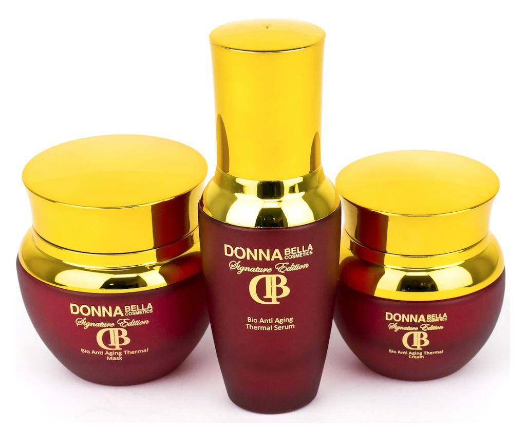 Set 3 produse pentru ingrijirea tenului Donna Bella Therma Bio