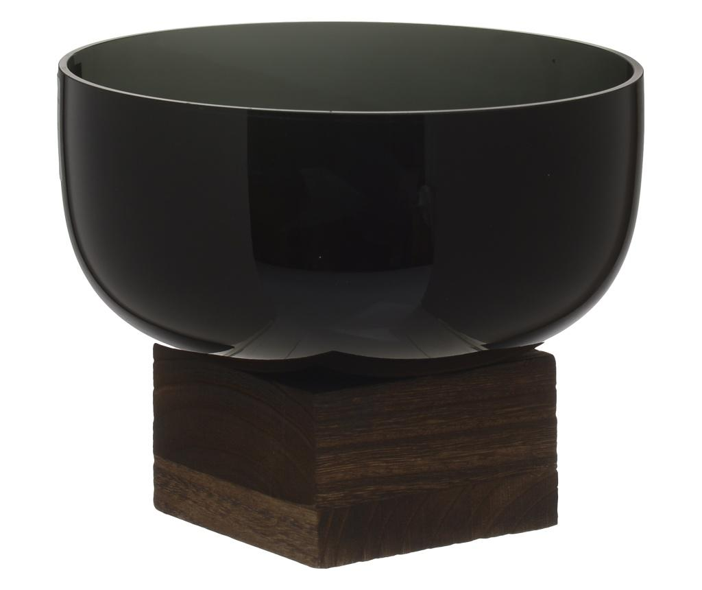 Bol decorativ Wooden Black