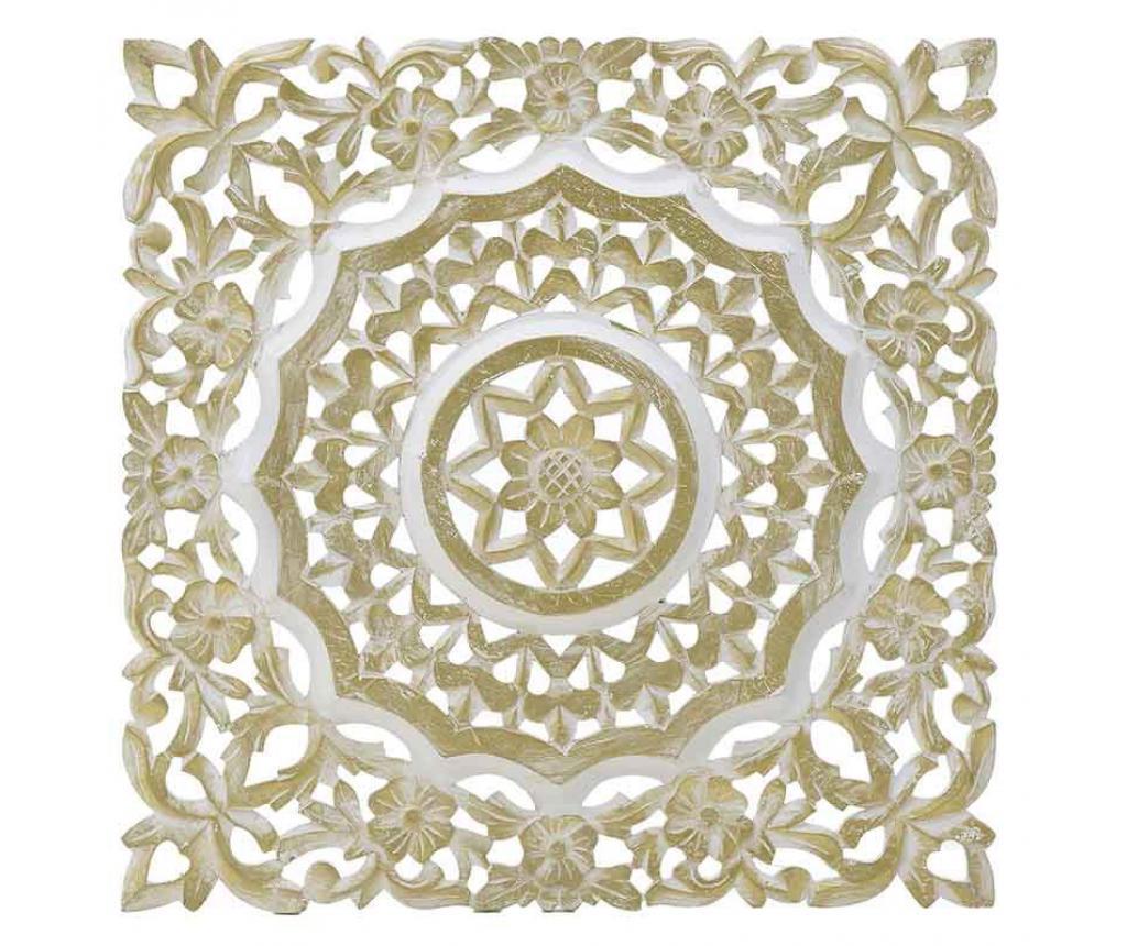Decoratiune de perete Antique Gold Panel - inart, Galben & Auriu imagine