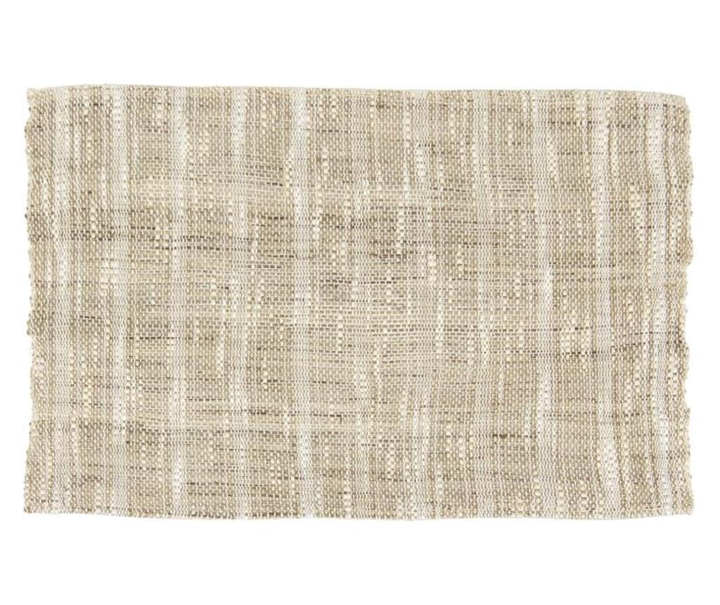 Set 4 suporturi farfurii 28.5x45 cm - Novita Home, Crem
