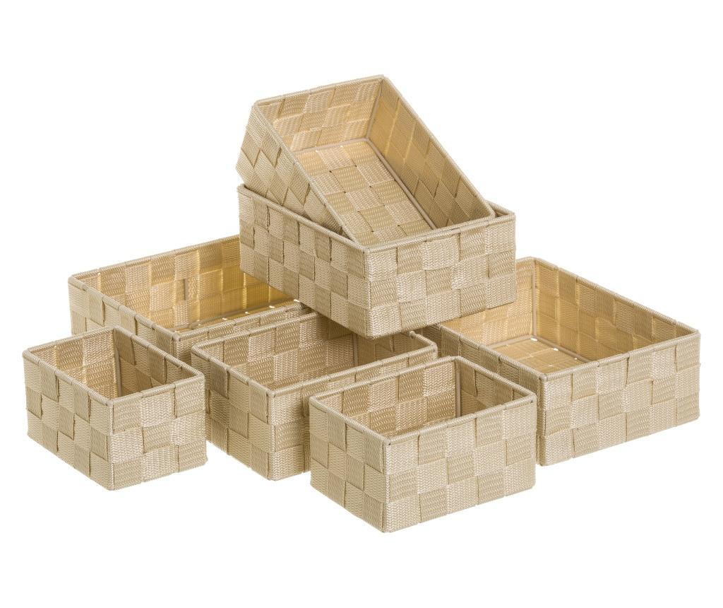 Set 7 cosuri Storage Beige imagine