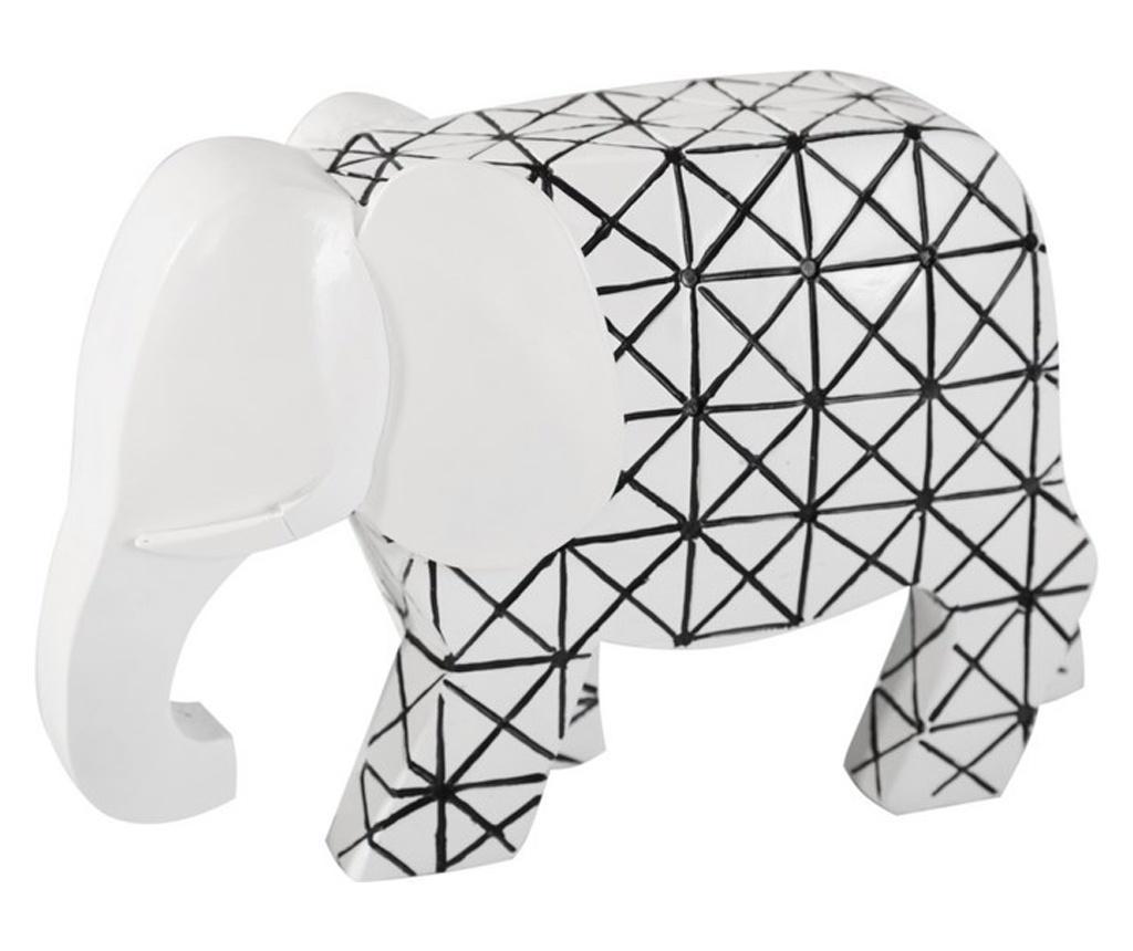 Decoratiune Elephant - Eurofirany, Alb vivre.ro