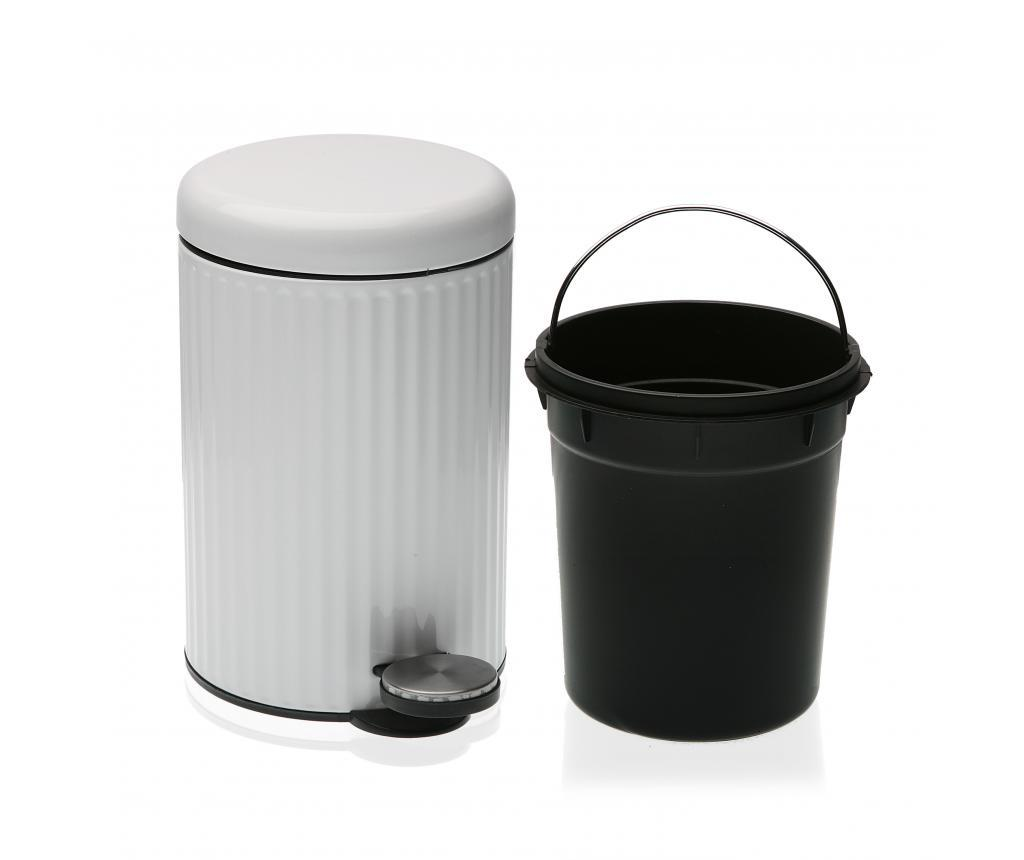 Cos de gunoi 3 L - Versa, Alb imagine