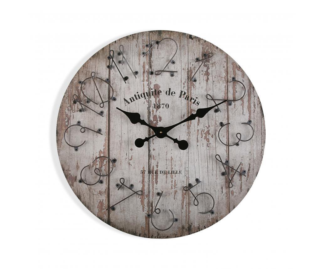 Ceas de perete - Versa, Alb imagine