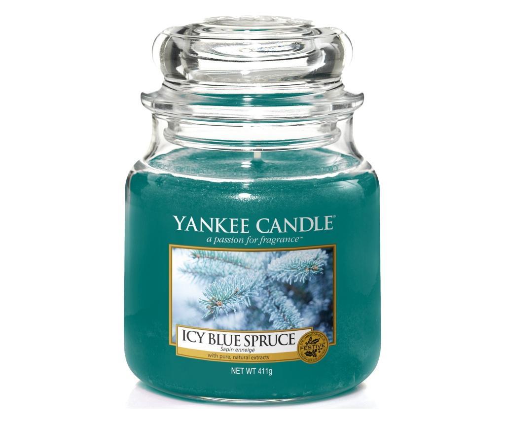 Lumanare parfumata Ice Blue Spruce - Yankee Candle, Multicolor poza
