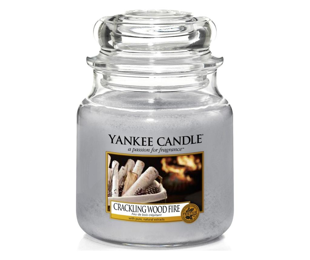 Lumanare parfumata Crackling wood fire imagine