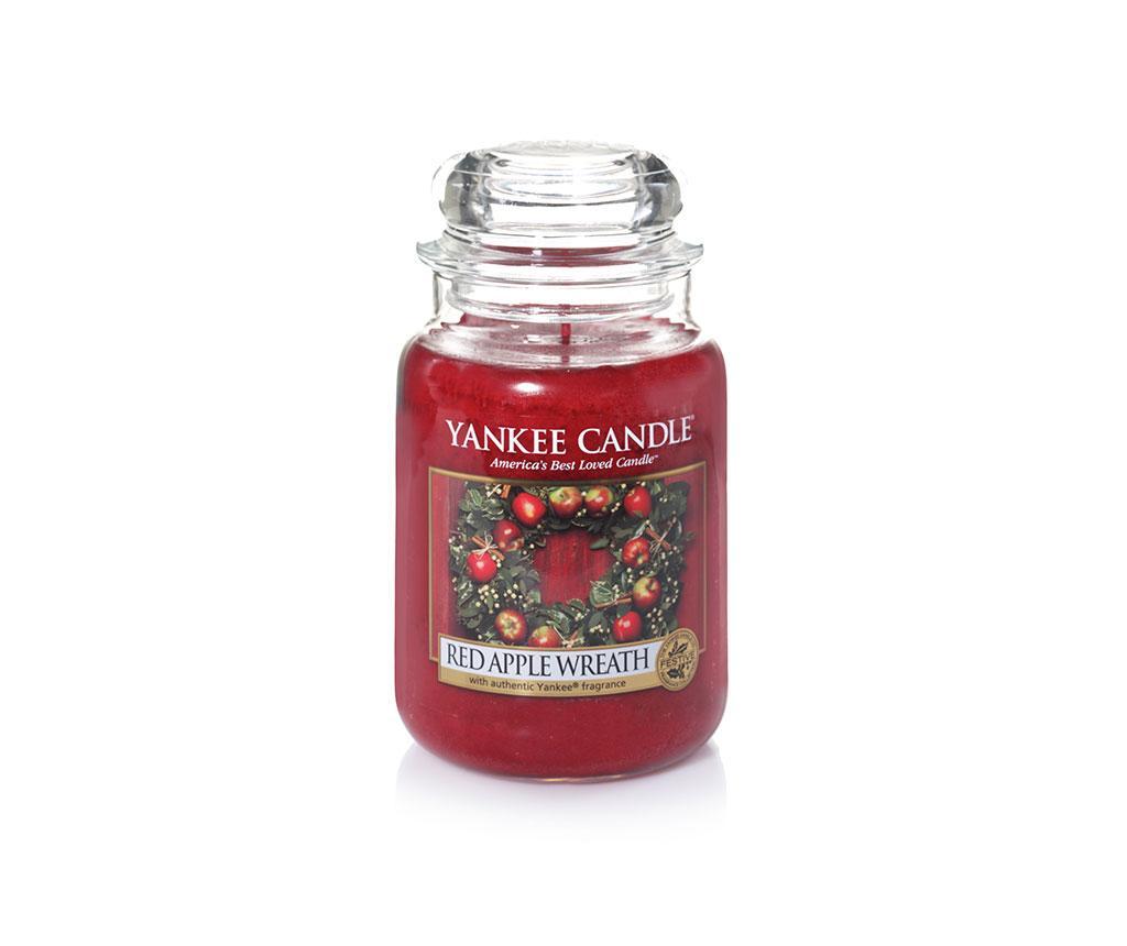 Lumanare parfumata Red apple wreath imagine
