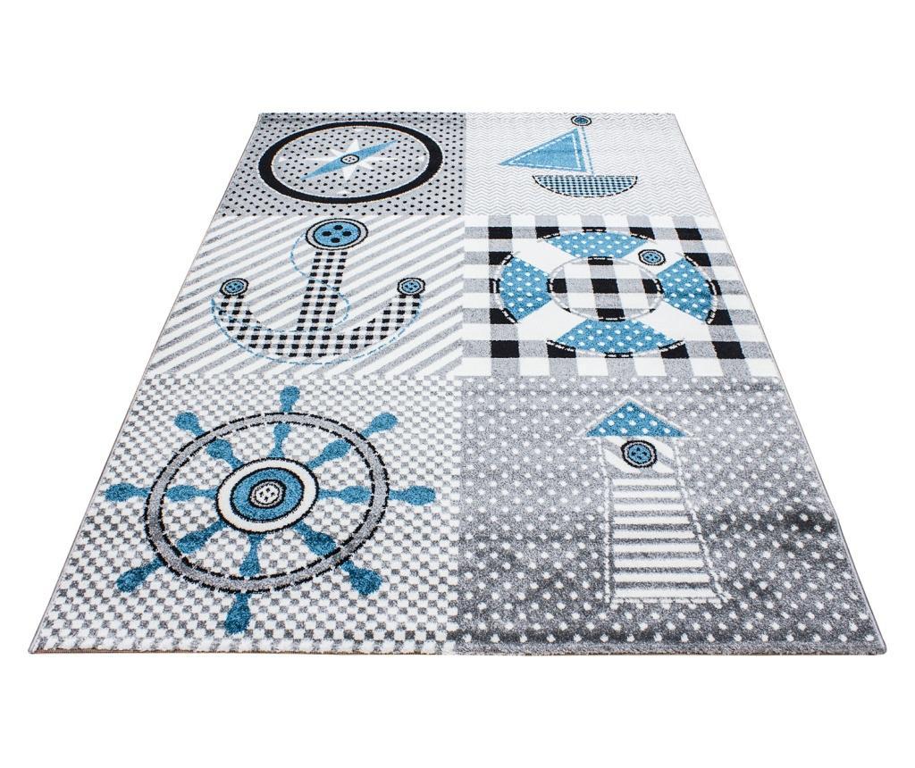 Covor Kids Grey 80x150 cm - Ayyildiz Carpet, Gri & Argintiu imagine