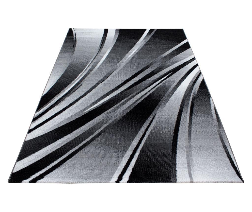 Covor Parma Black 80x300 cm - Ayyildiz Carpet, Negru imagine