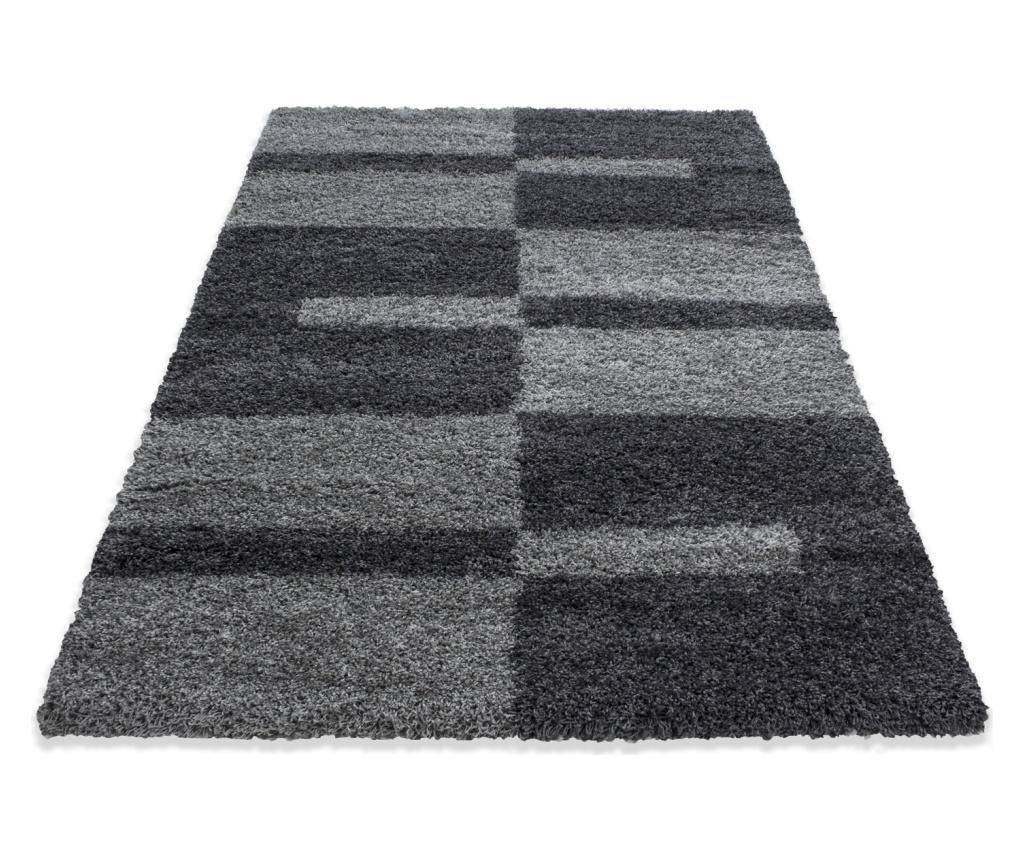 Covor Gala Grey 280x370 cm - Ayyildiz Carpet, Gri & Argintiu poza