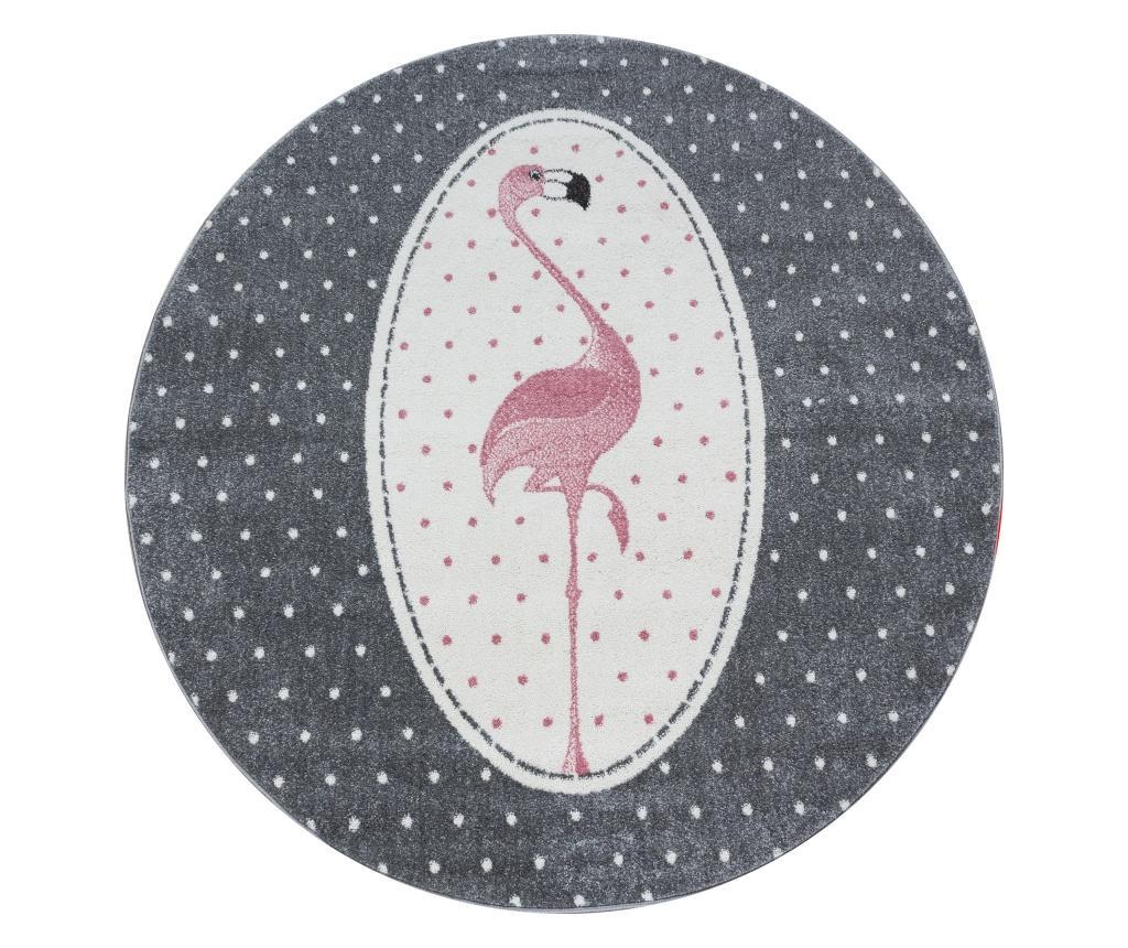 Covor Kids Pink 120x120 cm - Ayyildiz Carpet, Roz imagine