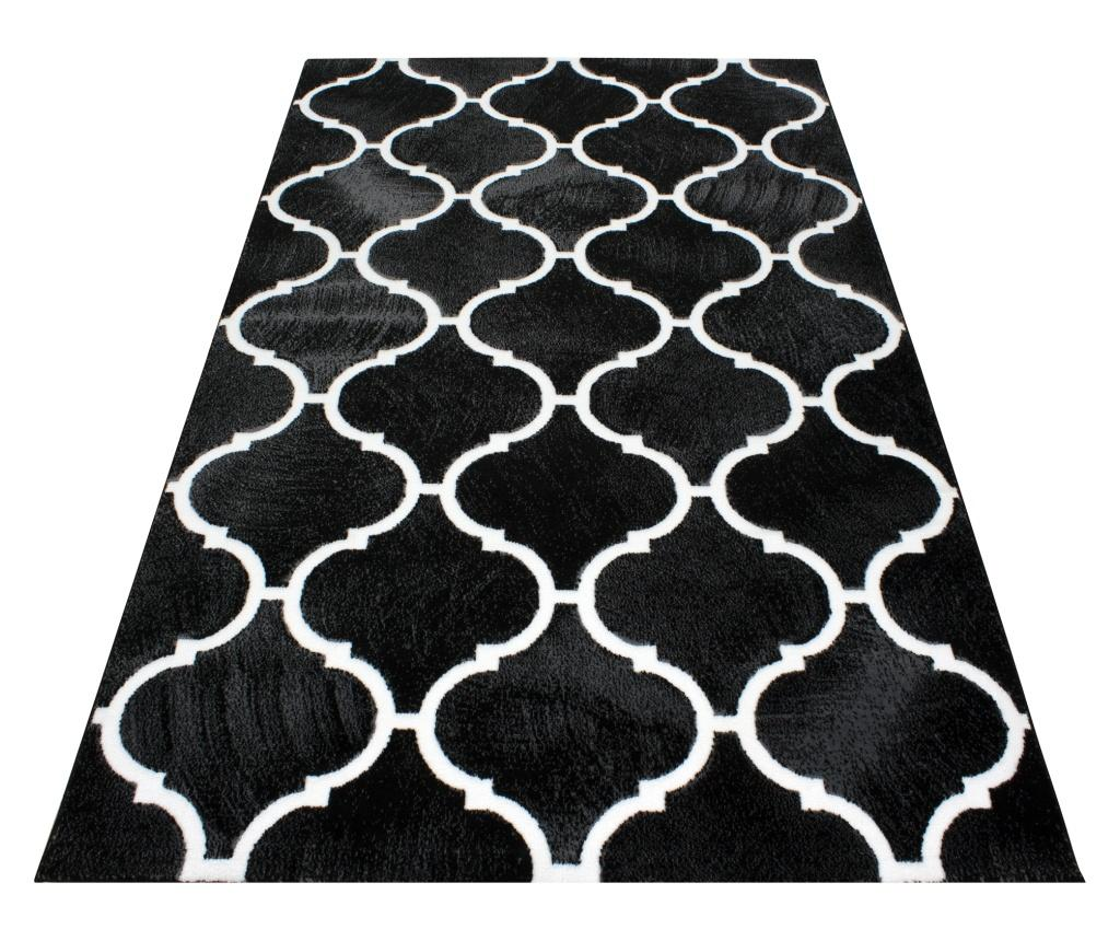 Covor Toscana Black 80x150 cm