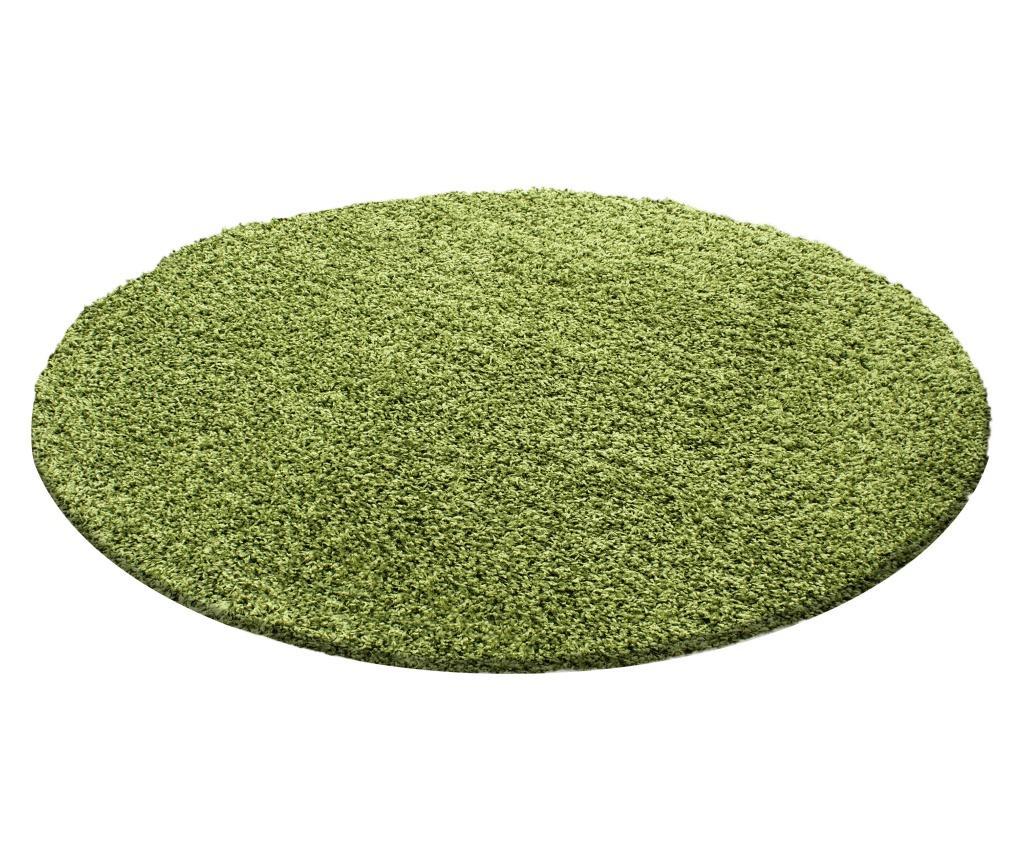 Covor Life Green 120x120 cm imagine