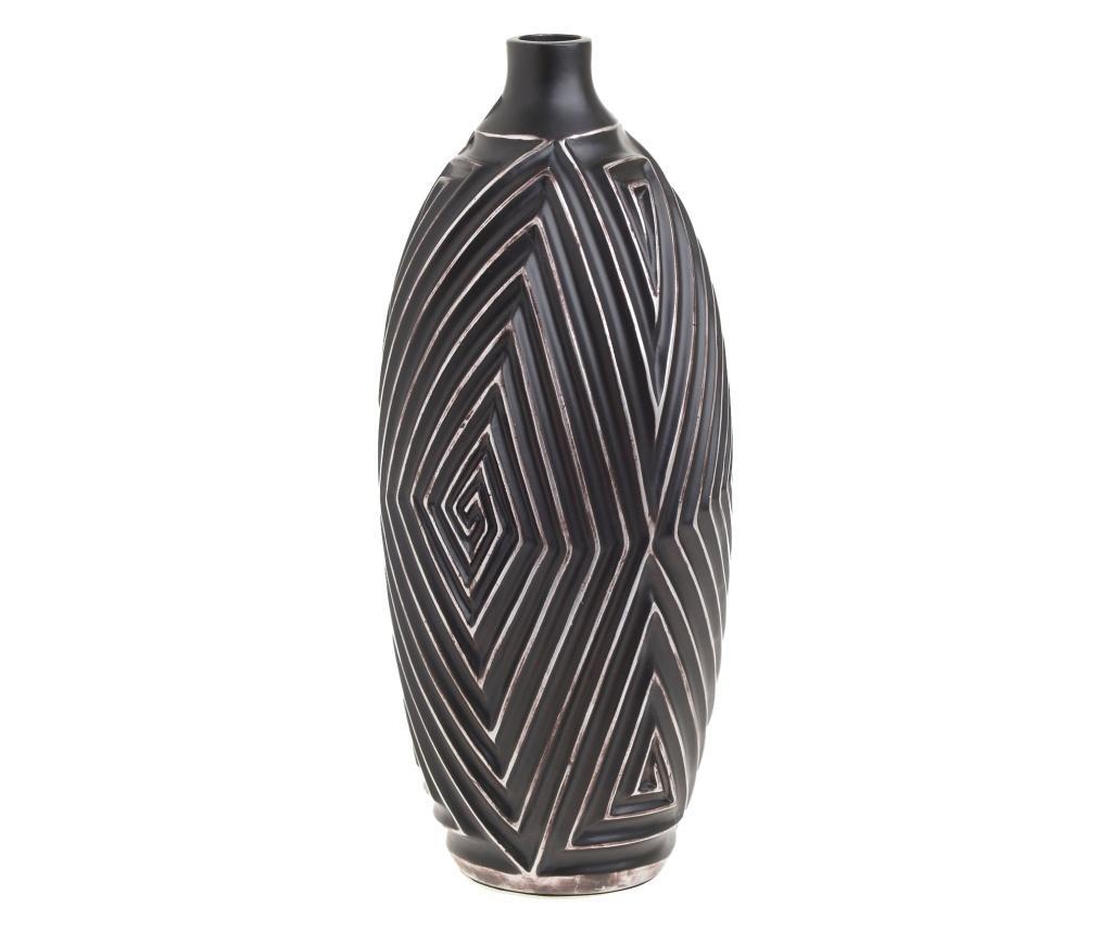 Vaza M - inart, Gri & Argintiu,Negru