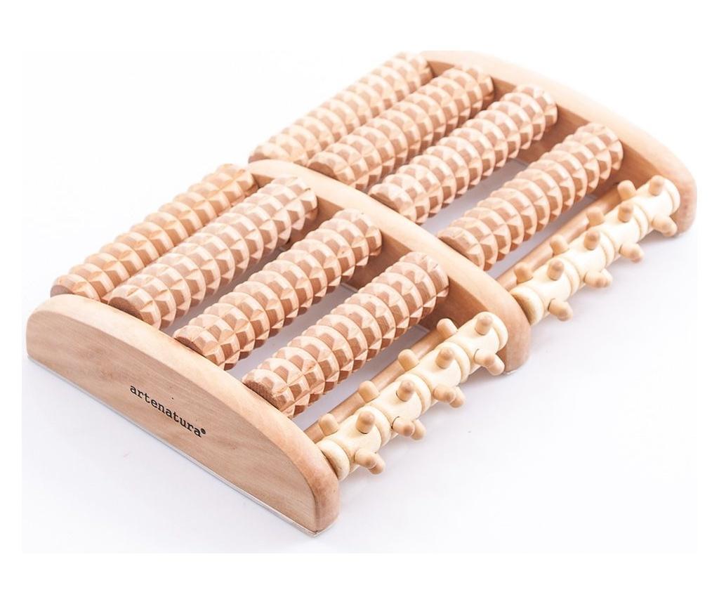 Dispozitiv din lemn pentru masaj