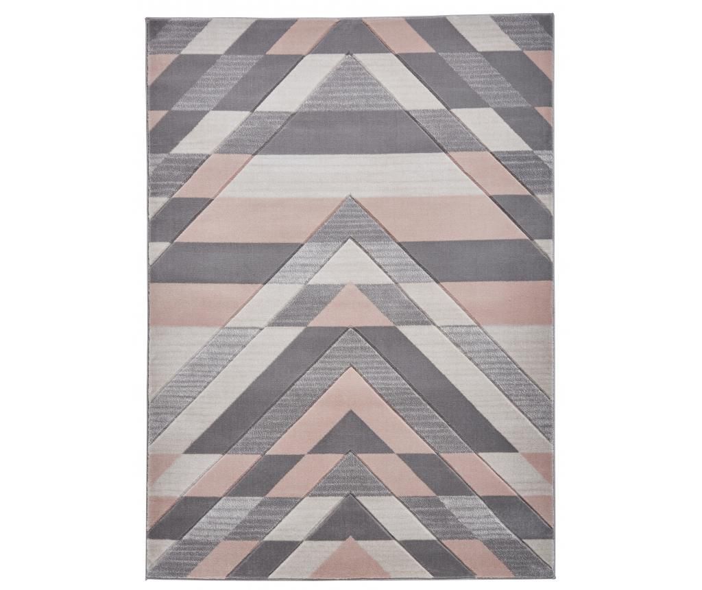 Covor Pembroke 160x220 cm - Think Rugs, Gri & Argintiu imagine