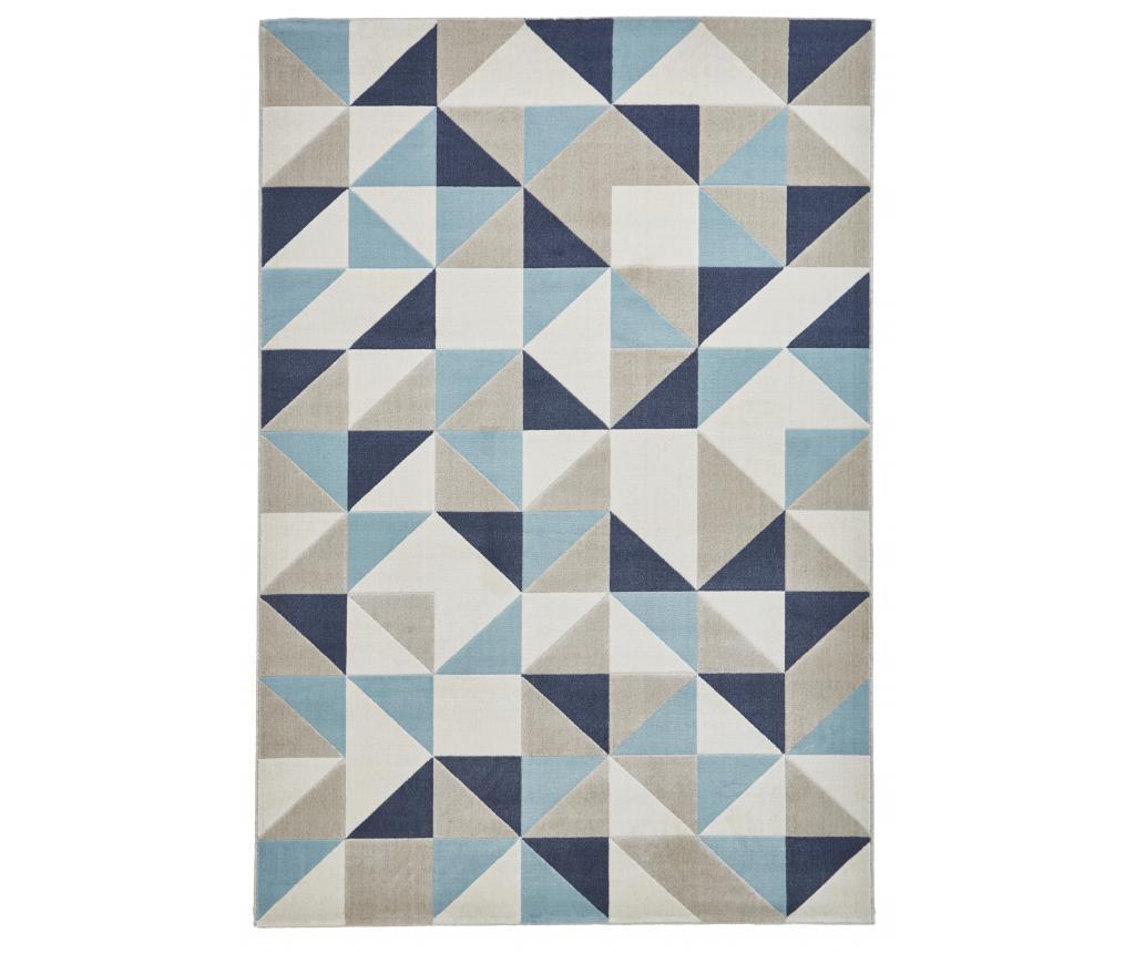 Covor Vancouver 160x220 cm - Think Rugs, Crem,Gri & Argintiu imagine